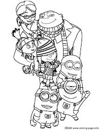 Minions The Family Coloring Pages Print Download 608 Prints