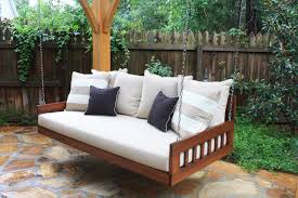 The patio furniture outdoor patio furniture wood patio swing