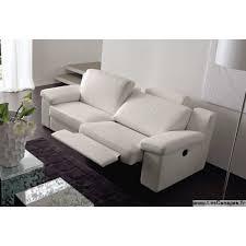 canap relax 3 places canapé contemporain en cuir blanc et canapé cuir moderne italien