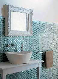 Old Bathroom Wall Materials by Details About Glass Mosaic Tile Blue Mosaic Tile Antique Bathroom