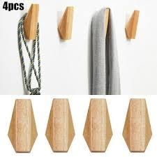 wandmontage wooden hook holz 11 6 2cm badezimmer mantel