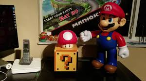 Mario Question Mark Block Lamp by Nyceone983 Nintendo Collecting Paladone Question Block Light Youtube
