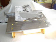workforce 7 wet tile saw with fence and bevel model thd550 ebay