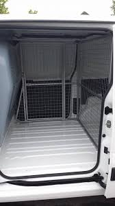 Dog Cage Van Conversion Desiged And Manufactured By Transcages Ireland Waterford