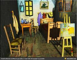 gogh chambre à arles bedroom in arles vincent gogh version by gurudutta