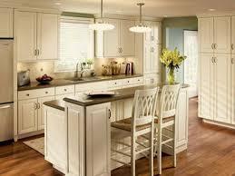 Kitchen White Small Island