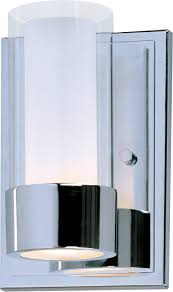 Bathroom Wall Sconces Chrome by Silo 1 Light Wall Sconce Wall Sconce Maxim Lighting Vintage Chrome