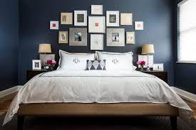 Dark Blue Bedroom Design Decor Ideas With Photo Frame Decoration Clever Navy 1