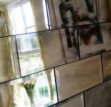 Mirror Tiles 12x12 Cheap by Metro Tiles Antiqued Mirror Bathrooms Pinterest Metro