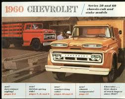100 1960 Chevrolet Truck Series 50 60 ChassisCab Stake Brochure At