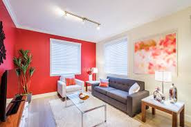 Give Life And Light In Your Living Room By Combining Rich Shade Of Reds Or Orange Color Palette For Red