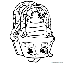 Shopkins Coloring Pages Season 8