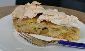 rhabarber baiser kuchen glutenfrei