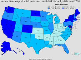 Front Desk Manager Salary Florida by Hotel Motel And Resort Desk Clerks