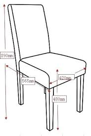 Dining Room Chair Dimensions Standard Dinning A Furniture Sizes