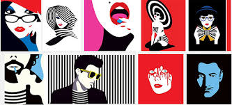 Graphic Design Artists Malika Favre Negative Space Excellence