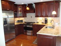 Ideas With Wood Cabinet And Nice Cabinets Countertops Youtube Kitchen Decor Dark