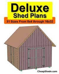 how to build a shed free videos cheap shed plans