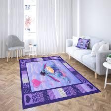 ses pferd blau und lila teppich wohnzimmer bereich teppich
