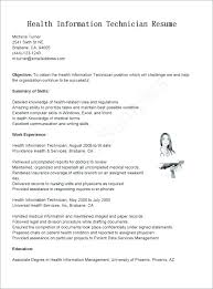 Young Health Information Management Resume Healthcare Student