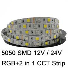 5m led stripe 12v 24v dimmable rgb rgb ww rgb cw rgbww