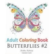 Adult Coloring Book Butterflies 2