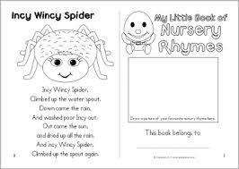 Nursery Rhyme Colouring Booklet SB6809