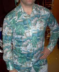 Quality Disco Vintage 70s Mens Shirts Dallas Attire