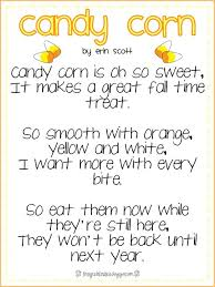 Poems About Halloween That Rhymes by Image Result For Fall Poem For Second Graders Poetry Pinterest