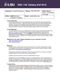 Lsu Help Desk Location by Syllabus 1100 Fall 2013 2 Test Assessment Password