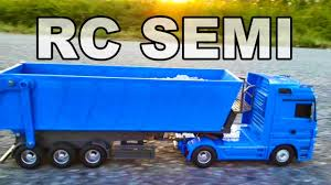 100 Rc Semi Trucks And Trailers For Sale Awesome RC Dump Truck Only 60 TheSaylors YouTube