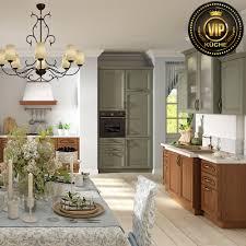 landhausküche piemont im italienischen stil massivholzküche mintgrün natureiche mit patina
