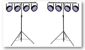 Academy Audio Small LED Par Can Lighting Hire Packages