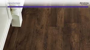 Armstrong Laminate Flooring Cleaning Instructions by Farmhouse Plank Traditional Luxury Flooring Rugged Brown A6715