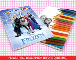 INSTANT DOWNLOAD Only With Payment In PayPal Coloring Pages Disney Frozen