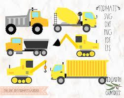 100 Construction Trucks Trucks Bundle In SVG EPS PDF DXF PNG Formats