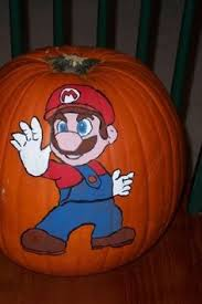 Mario Pumpkin Carving Templates Free by Super Mario Pumpkin Pumpkins Pinterest Mario Pumpkin
