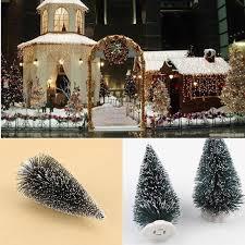 1045cm Mini Christmas Tree Artificial Xmas Hemp Trees Cedar Ornaments Festival Table Miniature