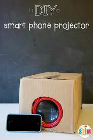 DIY Smart Phone Projector The Stem Laboratory