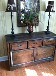 Baby Cache Heritage Dresser Chestnut by Old Refurbished Dresser Turned Buffet Table 35 Goodwill Find