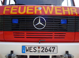 100 Fire Truck Plates Germany