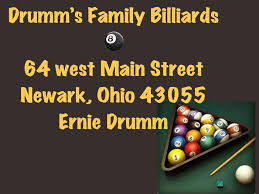 drumms family billliards home