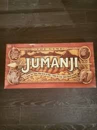 Jumanji Board Game 100 Complete Milton Bradley Robin Williams Movie Film 1995