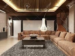 wohnzimmer design braun caseconrad