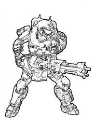 Halo Coloring Pages Picture 15