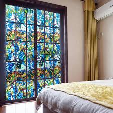 fantaisie fix raisin vitrail vie privée pour salon statique