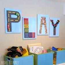 Diy Wall Decor For Playroom Decorations Ideas It Guid On Toddler Boy Room
