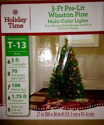 Best 3 Ft Color Pre Lit Christmas Tree Still In Box For Sale Atlanta Georgia 2018