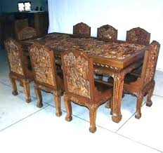 Dining Tables Used Table And Chairs Sale For Second Hand Room Furniture Set Canada Ideas Sets