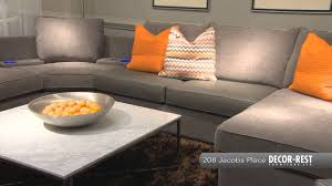Braxton Culler Sofa Bed by Decor Rest Spring 2013 Youtube
